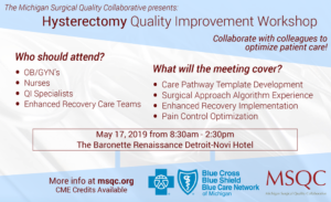 Hysterectomy Quality Improvement Workshop
